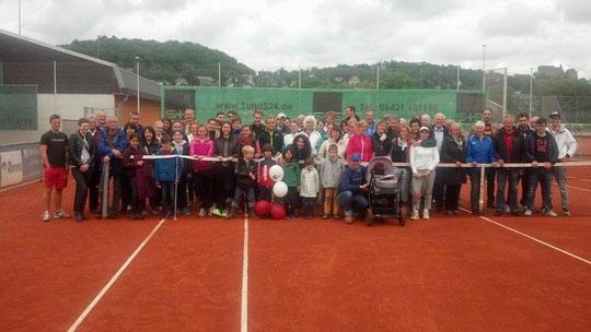 Über 60 Teilnehmer kamen zur Saisoneröffnung