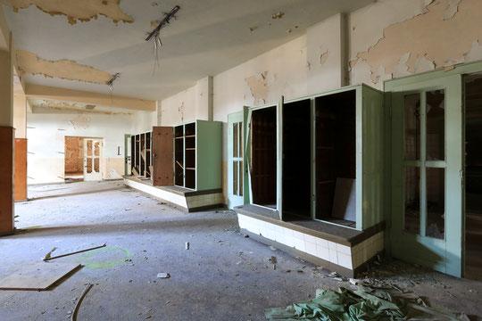 Umkleide vor dem Sanatoriumsbad (2018)