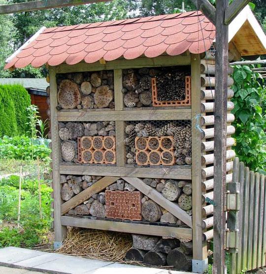 Insektenhotel von Ireneus Heidrich