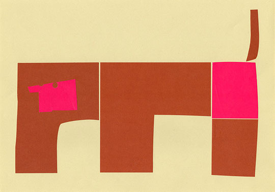 "ABC Animals: Original ""M for Monkey"" 268 mm x 379 mm  2011 Ⓒ Hanae Tanazawa"