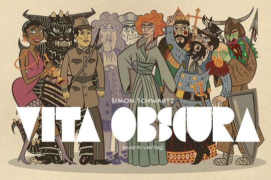 """Vita Obscura"", avant-verlag, 2014"