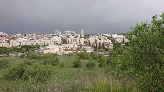The view of Modiin from Tittora Hill