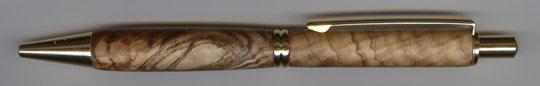 Klickkugelschreiber aus Nussbaum