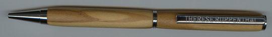 Drehkugelschreiber aus Olivenholz