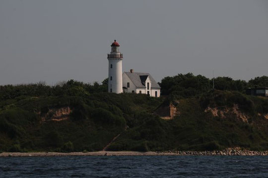 Leuchtturm Vesborg an der Südwestecke von Samsø