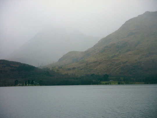 Foggy Loch Lomond