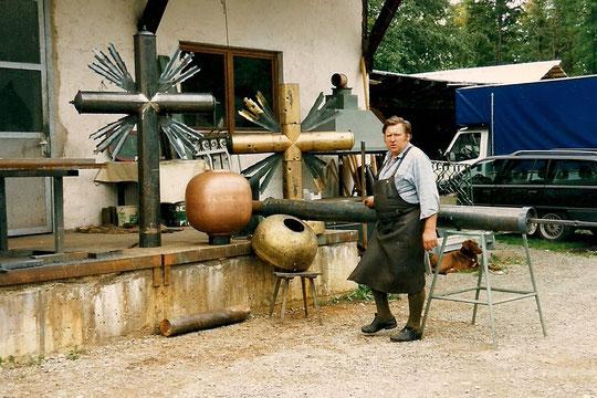 Franz Würzinger - Zugspitzkreuz 1993