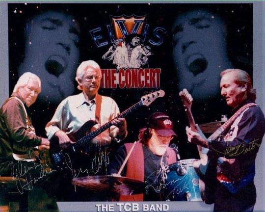 Bandmitglieder der letzten Elvis-Band