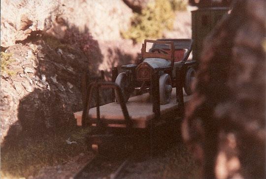 Obwohl die Eggerbahn so niedlich ist, hat sie von der betrieblichen Seite her ein kleines, aber nicht unerhebliches Problem: Es fährt nichts!!