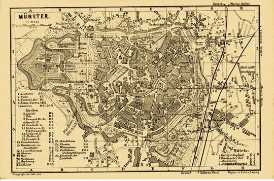 Stadtplan 1890
