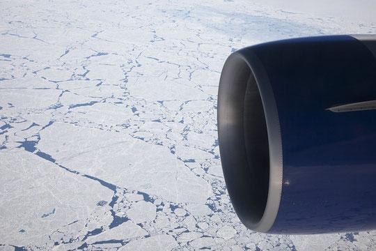 Die Aussicht knapp am Nordpol war fantastisch.