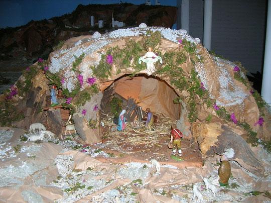 Presepio a San Pio x  25 dicembre 2006