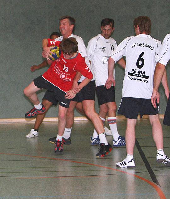 v.l.:Robert Stephan, Stefan Leinung, Thomas Nehl und Dirk Steffens