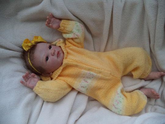 REBORN BABY NINA GUDRUN LEGLER