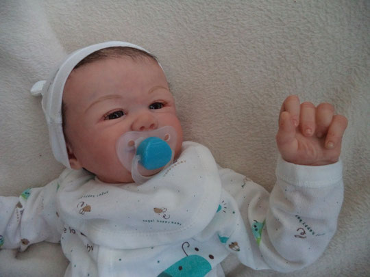 BABY REBORN TOMMY Sandy Faber