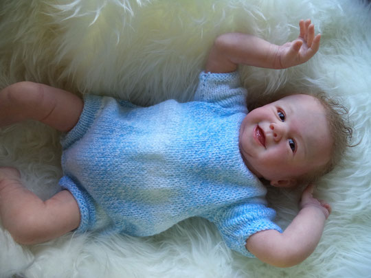 'TOMMY' by Sandy Faber reborn doll