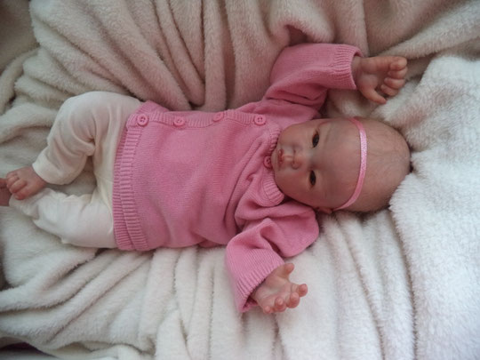 reborn doll LITTLE LUCA by Elly Knoops