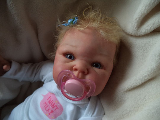 PARIS by Adrie Stoete reborn doll