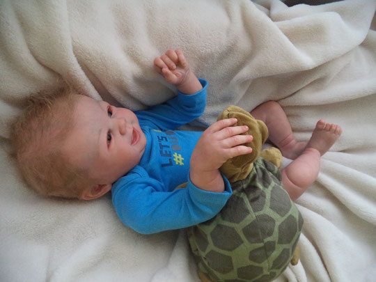 TOMMY BY SANDY FABER REBORN DOLL