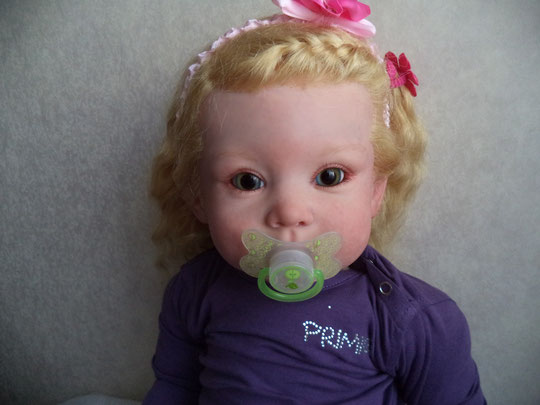 reborn doll 'BONNIE' di Linda Murray