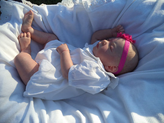 reborn bambole ISABEL by Jannie De Lange