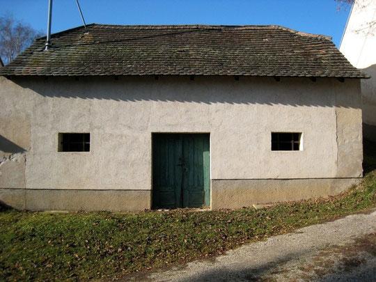 Untere Kellergasse - Presshaus mit Baumpresse + Erdstall (!) von Josef Seidl
