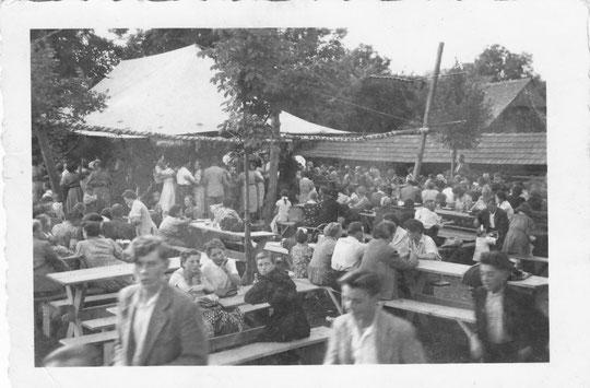 Hörersdorf: Kirtag 1961 - Foto von Gertrude Schmidt