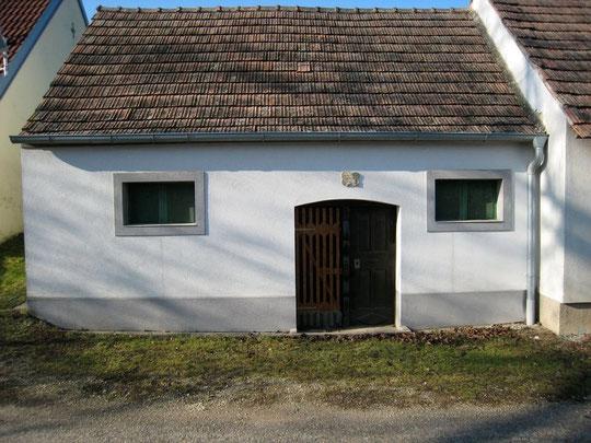 Obere Kellergasse - Presshaus von Ines u. Ernst Bogner