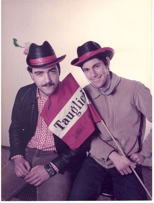 Jahrgang 1966: Helmut Weiss und Leopold Zieger