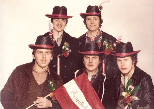 Jahrgang 1962: Josef Scheiner, Josef Steingassner, Josef Strobl, Johann Bittner u. Rudolf Blahota