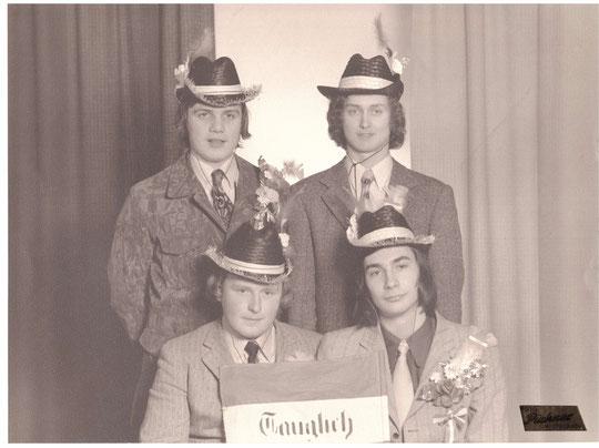 Jahrgang 1954: Martin Scheiner, Franz Treimer, Franz Hauser u. Josef Amon