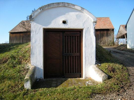 Obere Kellergasse - Vorkappl-Keller von Anton Scheiner (vormals Fritz u.Edith Bößmüller)