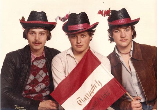 Jahrgang 1965: Gerhard Hauser, Werner Scheiner und Christian Stubenvoll