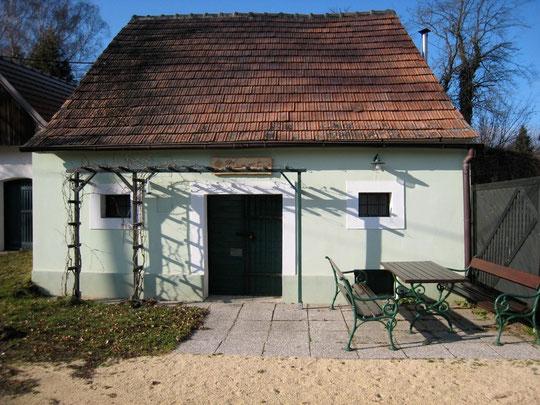 Untere Kellergasse - Presshaus von Gerhard Fiby (vormals Oswald Fiby)