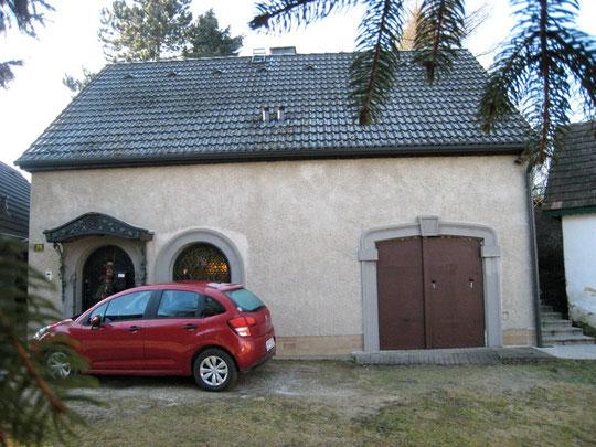 Untere Kellergasse -Presshaus von Kurt Aurednik
