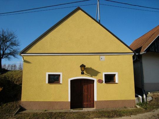 Untere Kellergasse - Presshaus mit Baumpresse v. Martin Scheiner (seit 1736 im Besitz von Martin Scheiner!!!)