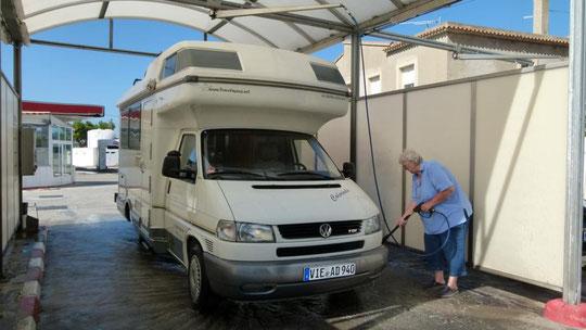 Autowäsche in Oliva