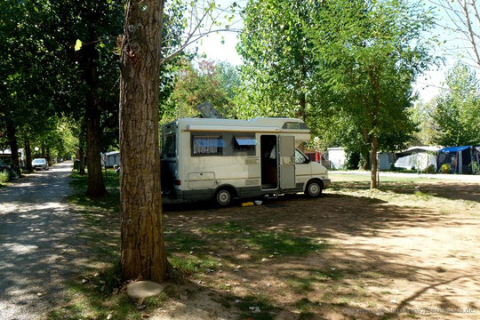 Camping Victoria in Jaca