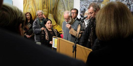 Roland et Sabrina Michaud au vernissage de leur exposition à Montélimar au festival PRÉSENCE(S) PHOTOGRAPHIE 2015