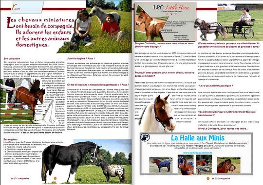 En Selle Magazine - Février 2013
