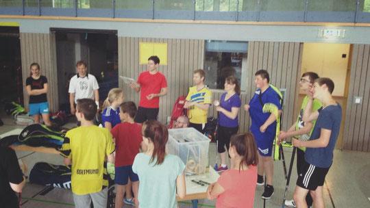 Am Ende machte Team Chaos von Floorball Mainz e.V. das Rennen.