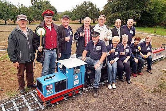 Die Dampfbahnfreunde Illingen. Foto: Fotomoment