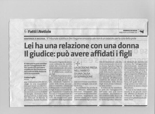 Giornale di Sicilia-Fatti & Notizie-Mercoledì 29 dicembre 2010