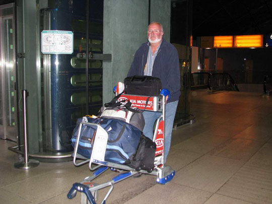 Flughafen Frankfurt am 12.11.08