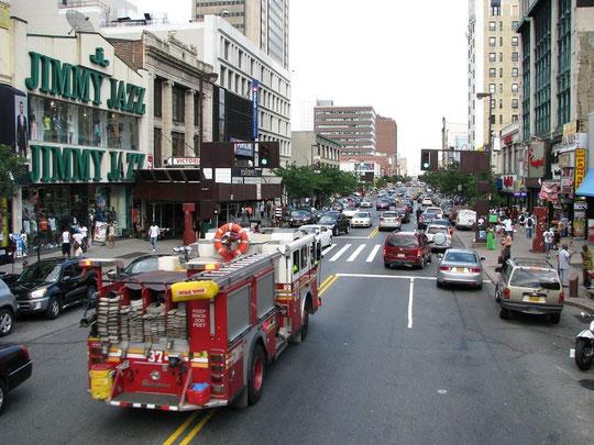 Die New Yorker Feuerwehr.
