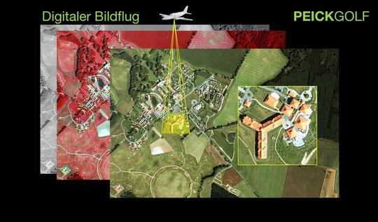 -------              Multispektralflug der Golfanlage Fleesensee
