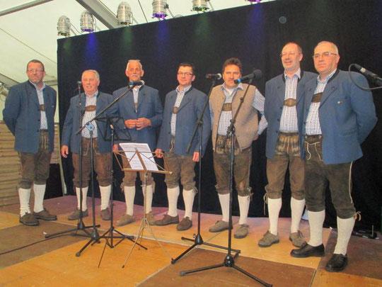 e-d-v   beim Gstanzlsingen am Pfingstfest 2016 in Andorf