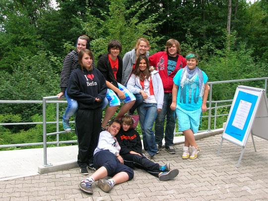 Jugendwochenende im Naturfreundehaus Steinknickle Neuhütten 1.+ 2.Juli 2011