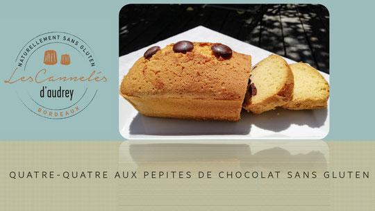 quatre-quarts sans gluten - à emporter -Bordeaux - Paris - France