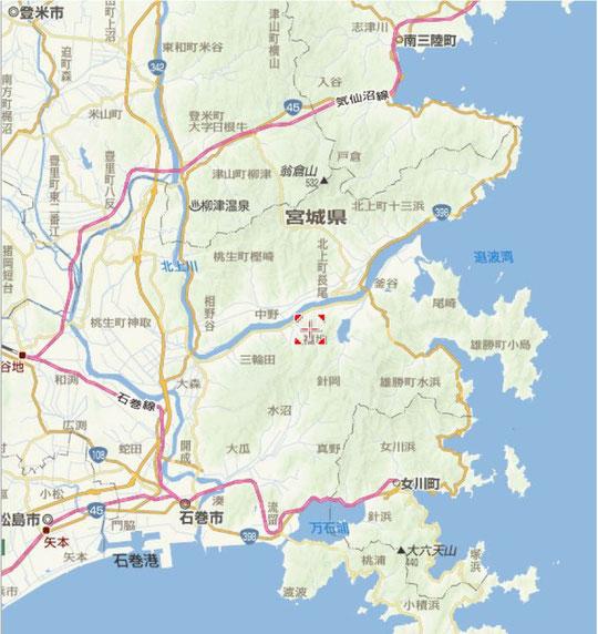 石巻市地図